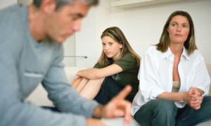 Help Your Teens FamilyDiscussion-300x180 Teen Depression and Sadness: What Parents Need to Know