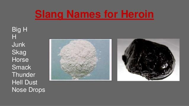 HeroinSlang