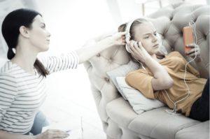Help Your Teens BigstockMomTeenonCell-300x199 Teen Help for Digital Addiction
