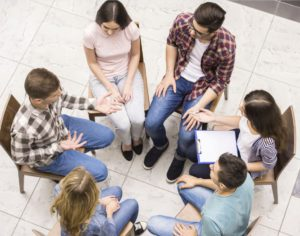 Help Your Teens BigGroupTherapy-300x236 Residential Treatment Center