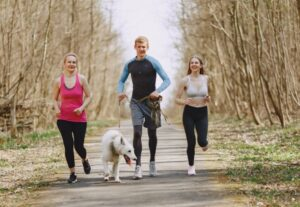 Help Your Teens PexelFamilyJogging-300x207 How the Pandemic Has Increased Teen Depression: What You Can Do About It